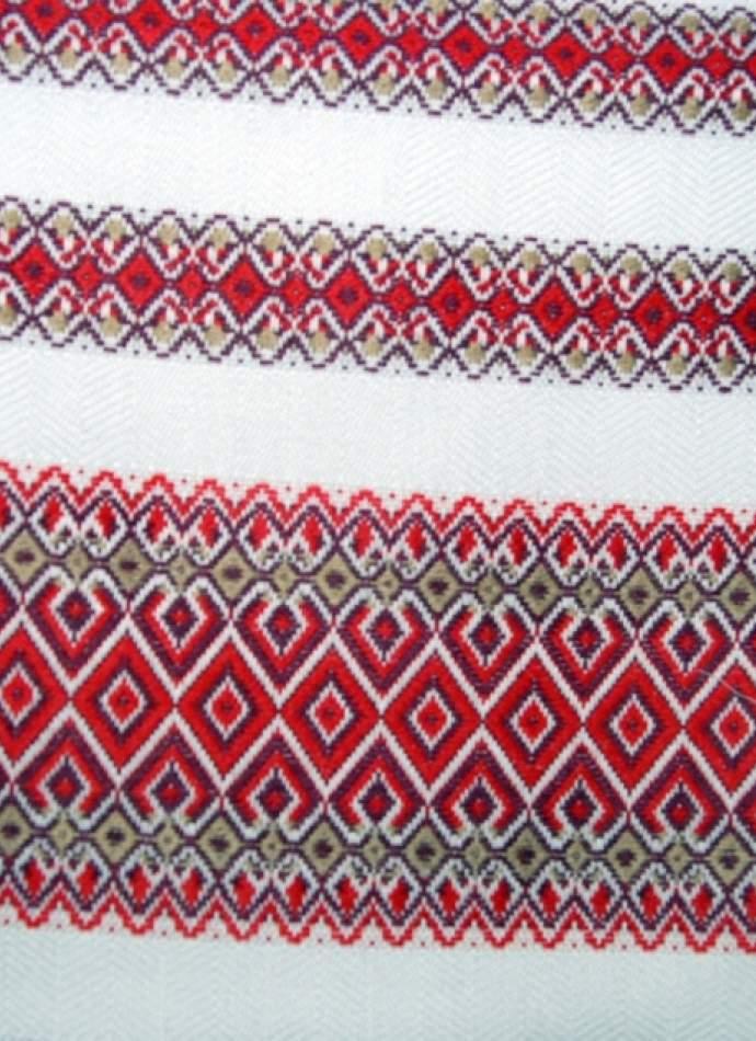 Украинское полотенце с вышивкой, №09