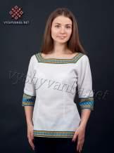 Женская блузка с нашивками, арт. 0044