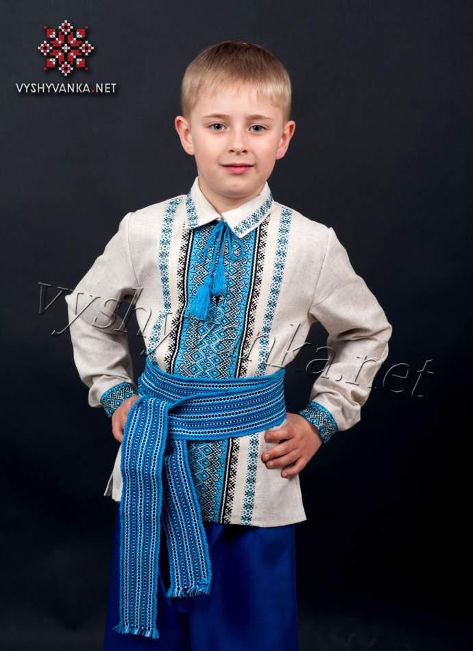 Сині шаровари на хлопчика, арт. шс