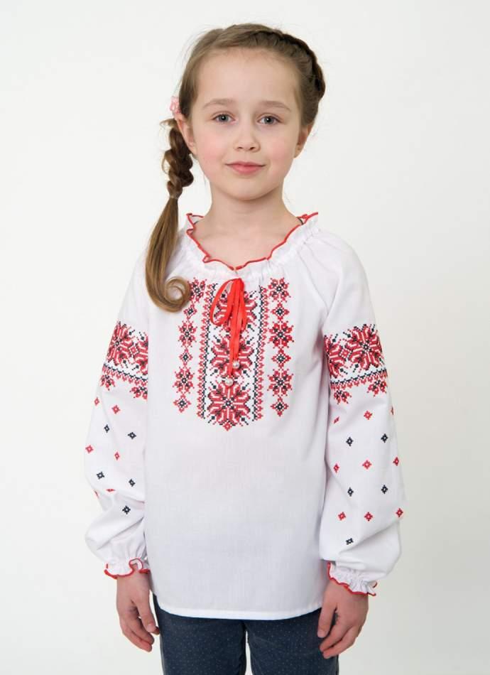 Детская вышиванка для девочки, арт. 4332