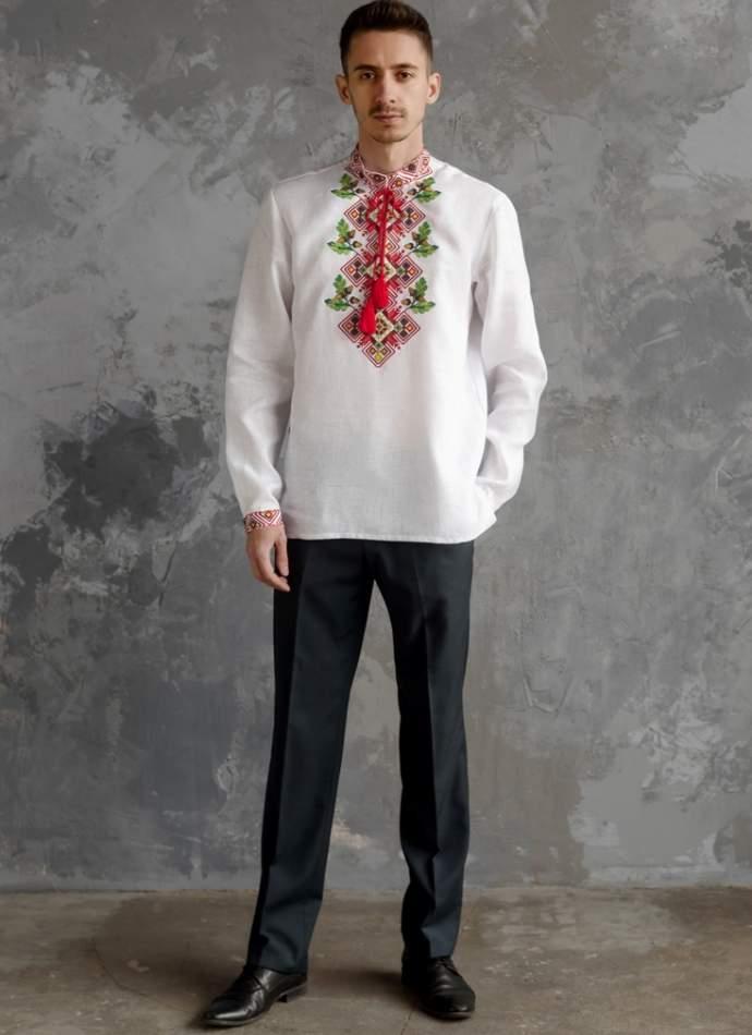 Чоловіча сорочка вишита, арт. 4246-бавовна