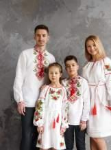 Сімейні вишиванки, арт. 4556+4246 бавовна