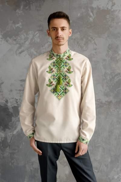 Мужская рубашка вышитая, арт. 4245