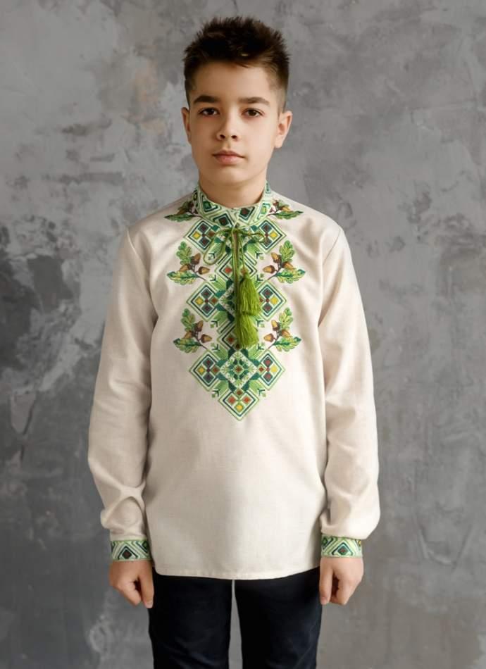 Рубашка на мальчика, арт. 4435