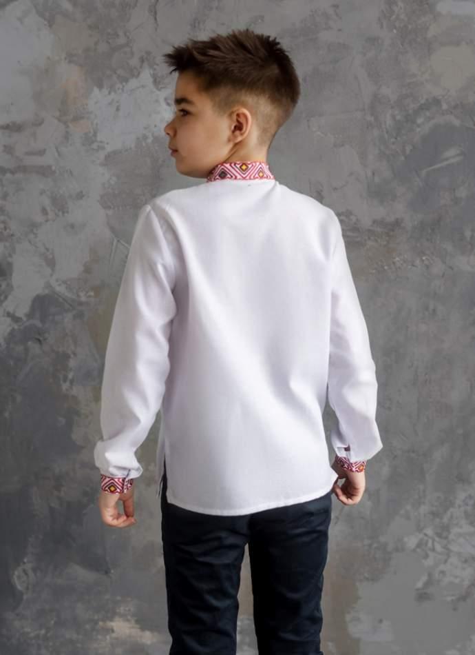 Рубашка на мальчика, арт. 4436-хлопок