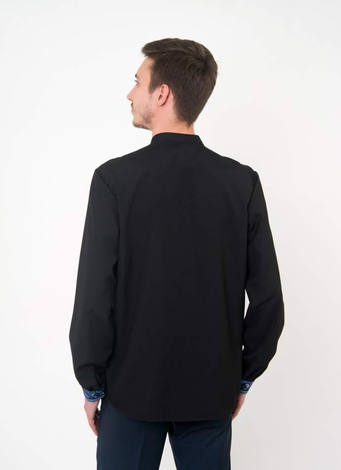 Вишита сорочка чоловіча чорна, арт. 4229