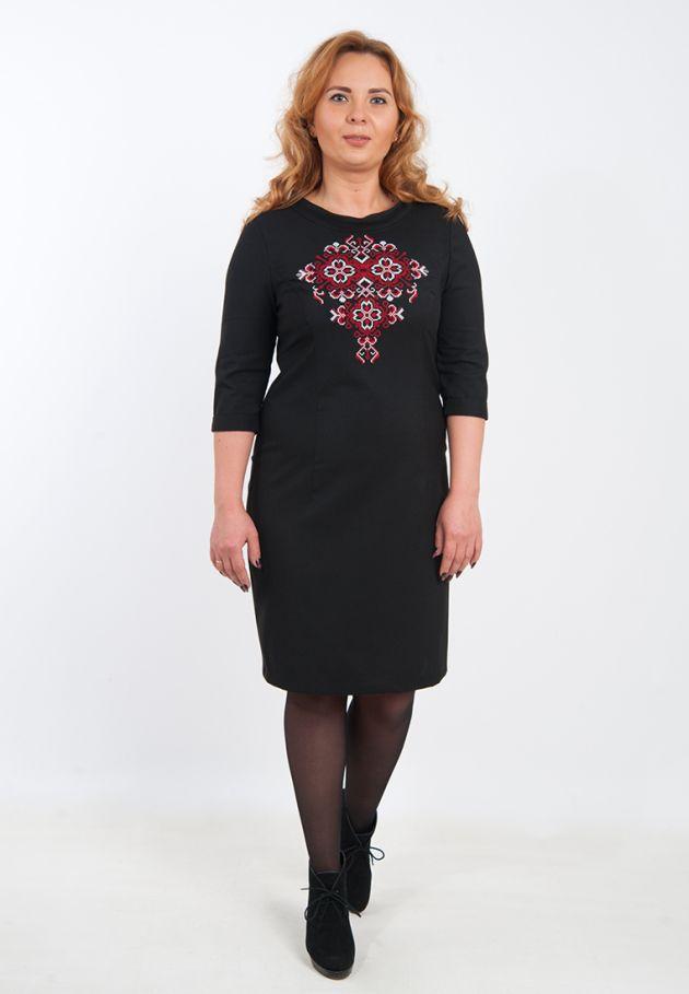 cd32b8deaf6a8b Вишите жіноче плаття великих розмірів купити Київ