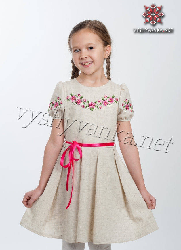 Плаття вишите для дівчинки купити Київ 6791771315bb3