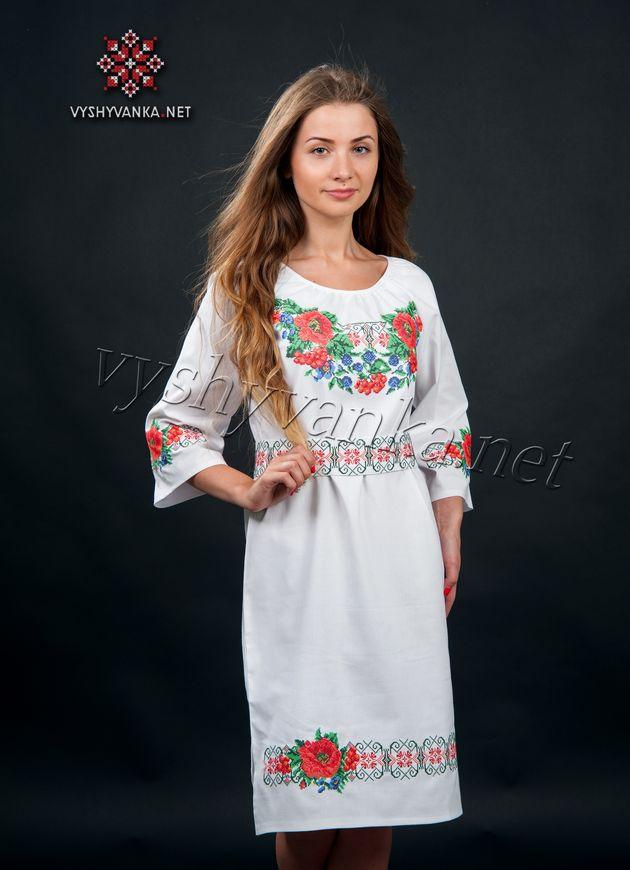 Плаття в українському стилі з маками 6498a006001a5