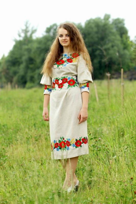 Вишиті сукні (плаття)  d930071dc3c46